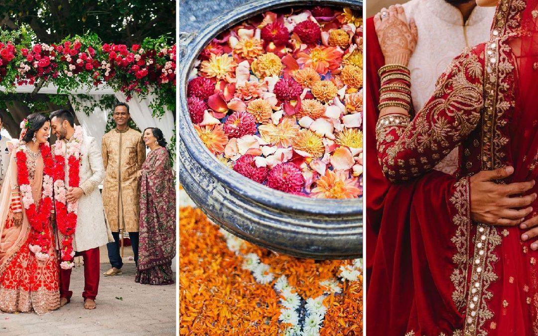 3 napon át tartó pompa és ragyogás pirosban és aranyban, avagy az indiai esküvők titkai